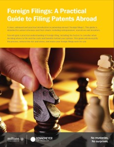 Foreign filings cover {focus_keyword} PCT Patents Foreign filings cover
